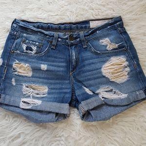 Rag & bone distressed shorts